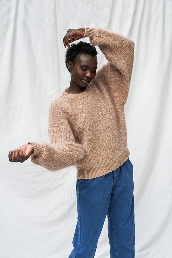 "<br><br><strong>Lenvers</strong> Lucie Wool Sweater, $, available at <a href=""https://www.lenversfashion.com/products/lucie-wool-sweater-1"" rel=""nofollow noopener"" target=""_blank"" data-ylk=""slk:Lenvers"" class=""link rapid-noclick-resp"">Lenvers</a>"