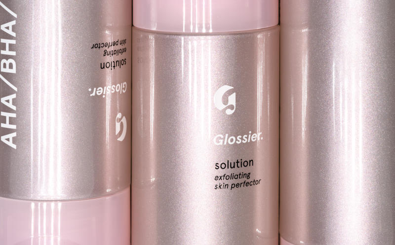 """<a href=""""https://www.glossier.com/products/solution"""" target=""""_blank"""">Try Glossier's Solution</a> for only $24."""