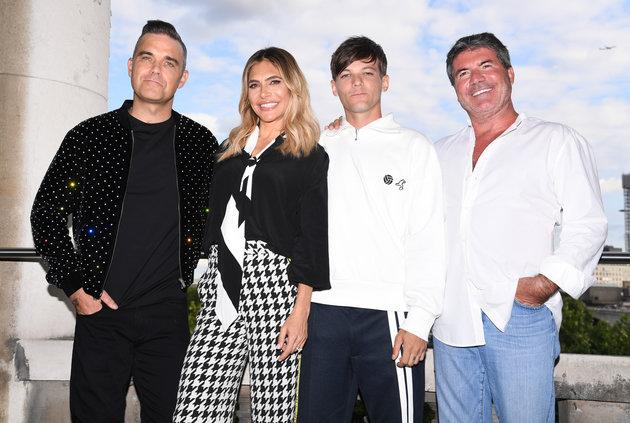 The new-look 'X Factor' panel