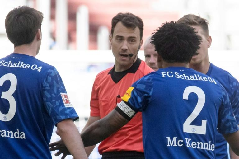 """McKennie wore a """"Justice for George"""" armband during a Bundesliga match following the death of George Floyd"""