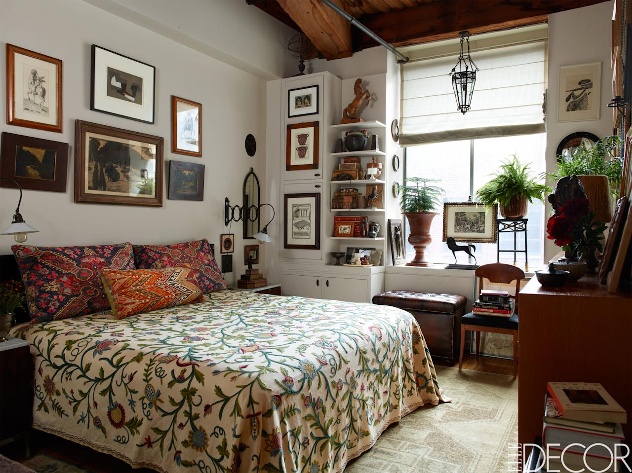 20 ways to make a big statement in a small bedroom