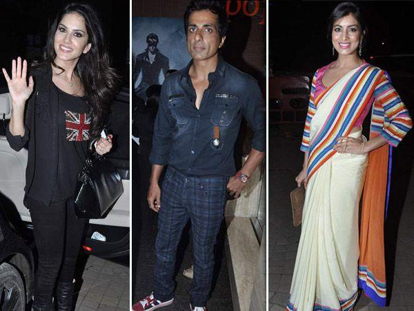 Celeb Spotting: Special Screening of Besharam