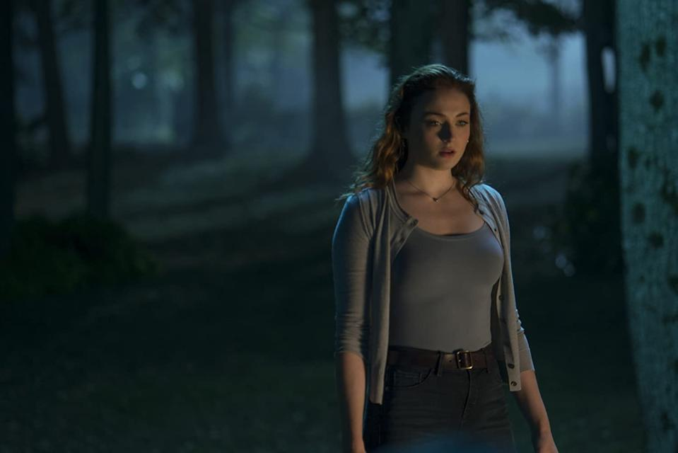 Sophie Turner in Dark Phoenix, which surprisingly hasn't put her off the X-Men franchise (Image by 20th Century Fox)
