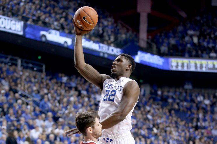 Poythress will likely spend the season with the Pacers' NBA Development League affiliate. (Getty)