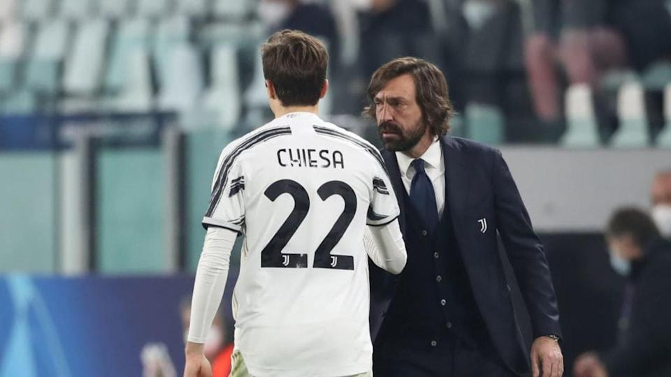 Federico Chiesa e Andrea Pirlo   Jonathan Moscrop/Getty Images