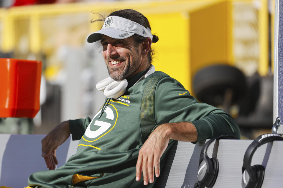 Aaron Rodgers said he was 'just BS-ing