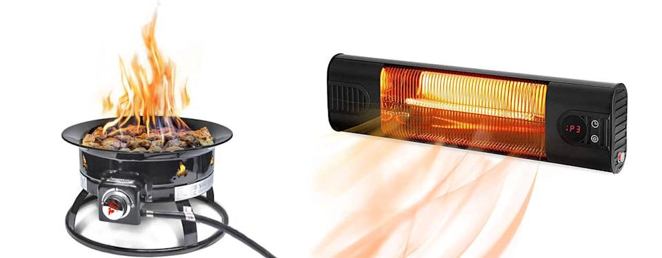 Patio Heater And Portable Gas Fire pit