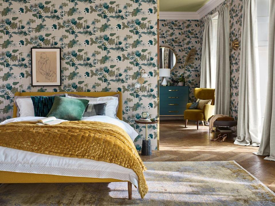 """<p>Brighten up your space with John Lewis' stunning new range of head-turning wallpaper. You'll find prints so pretty they'll make everyone stop and stare. </p><p>'We have developed five archival wallpaper designs for SS21 and all take inspiration from the 1800s and early 1900s,' says Naomi Barber, Partner & Designer, Home.</p><p>'Each design has been redrawn and painted to create new colourways to reimagine them for the present. Our archive is such a unique and invaluable resource for us in the studio and every season we build on the success of the last to recreate designs that our customers will love.'</p><p><a class=""""link rapid-noclick-resp"""" href=""""https://go.redirectingat.com?id=127X1599956&url=https%3A%2F%2Fwww.johnlewis.com%2Fbrowse%2Fhome-garden%2Fnew-in-home%2F_%2FN-7opk&sref=https%3A%2F%2Fwww.housebeautiful.com%2Fuk%2Flifestyle%2Fshopping%2Fg35369005%2Fjohn-lewis-partners-homeware-spring-summer%2F"""" rel=""""nofollow noopener"""" target=""""_blank"""" data-ylk=""""slk:SHOP NOW"""">SHOP NOW</a></p>"""