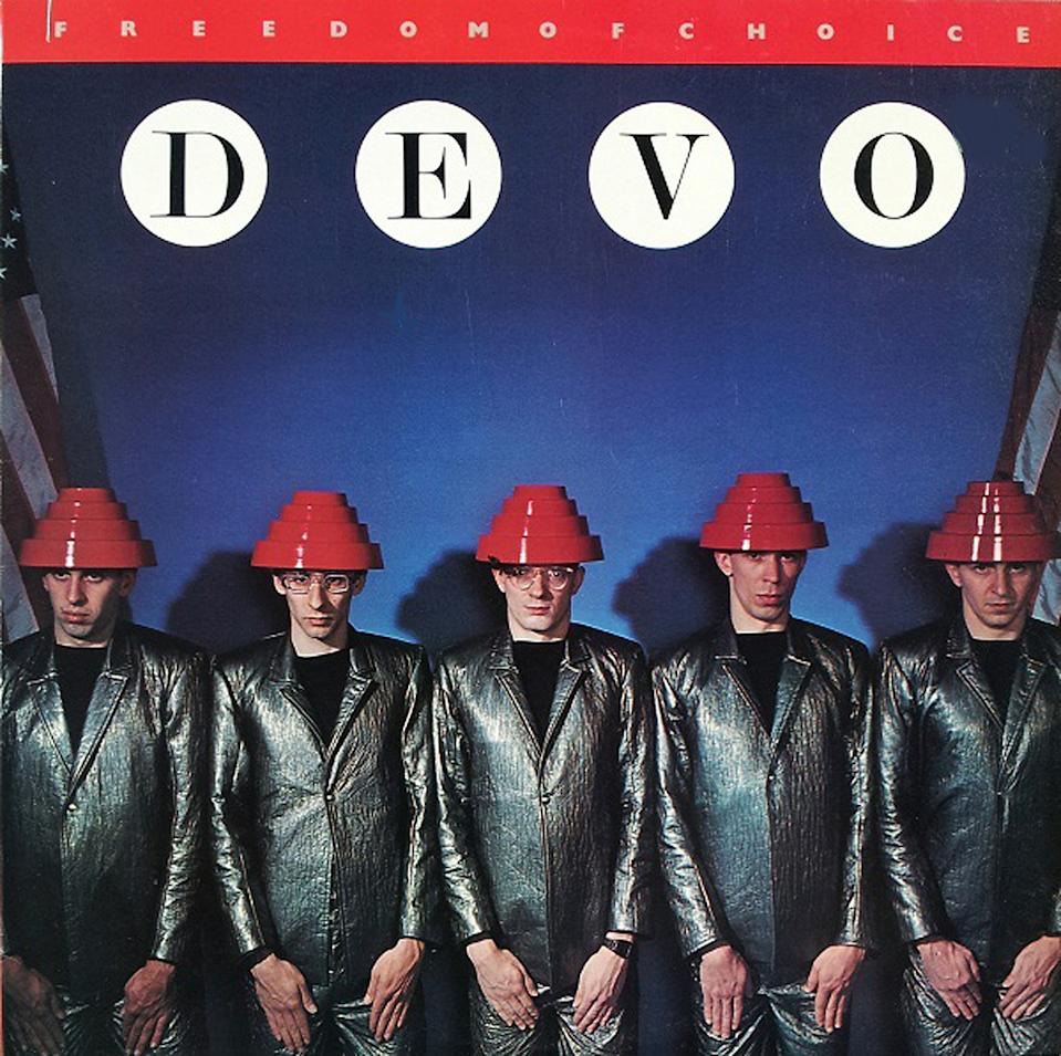 "Devo's ""Freedom of Choice"" (Warner Bros., courtesy of Neal Peters Collection)"