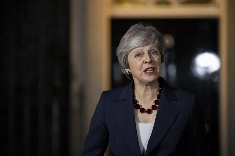Theresa May could face a move against her on Thursday (Getty Images)