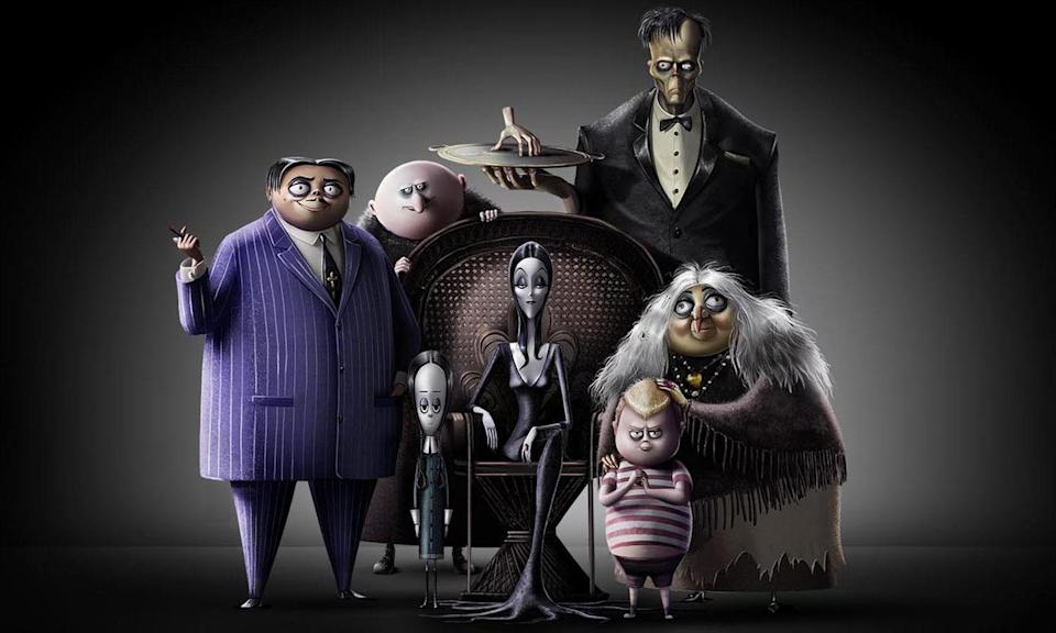 <p>The upcoming American 3D computer animated comedy film is based on <em>The Addams Family</em> comics by Charles Addams, and will feature the voices of Oscar Isaac, Charlize Theron, Chloë Grace Moretz, Finn Wolfhard, Nick Kroll, Bette Midler, and Allison Janney. </p>