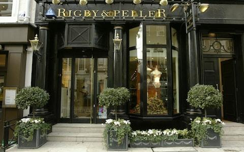 Rigby & Peller have a number of stores across London - Credit: Andrew Crowley