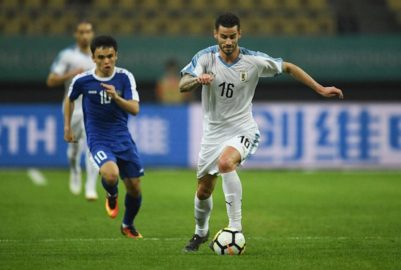 Uruguay, comfortable 3-0 victors over Uzbekistan on Friday in the four-team tournament, profited from some poor Thailand defending in the Chinese city of Nanning