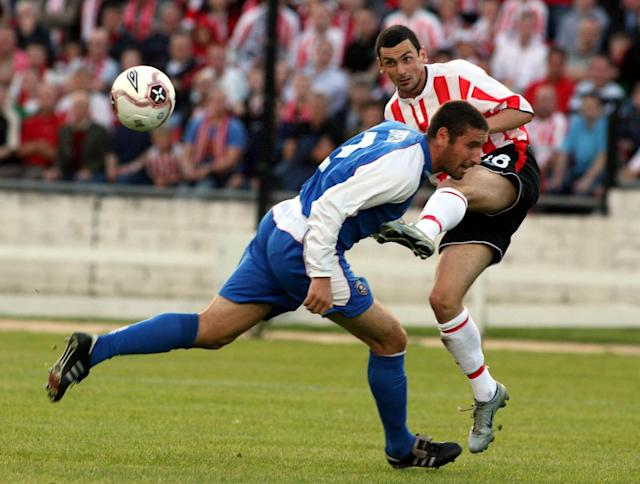 Derry City's Mark Farren died last year after battling a brain tumour