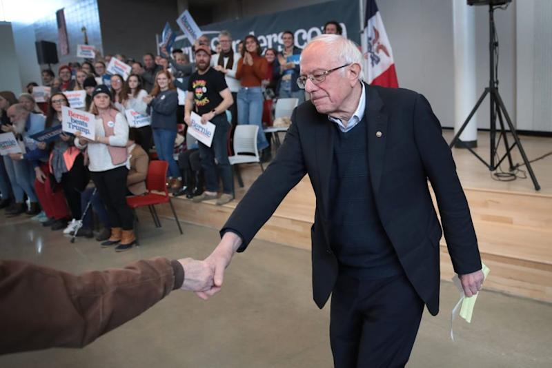How Bernie Sanders Is Betting on Outrage