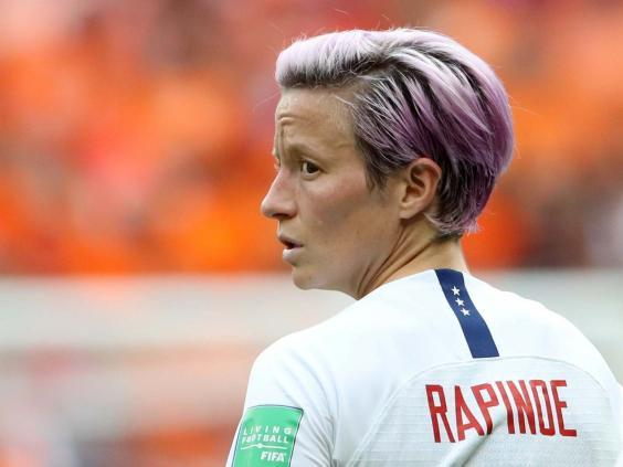 Megan Rapinoe helped lead the USA to victory at the 2019 World Cup (Reuters)