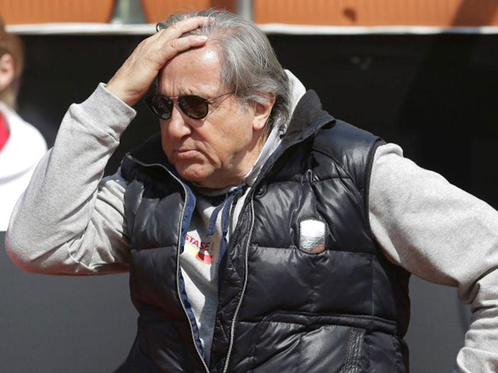 Former Romanian tennis player Ilie Nastase: Reuters