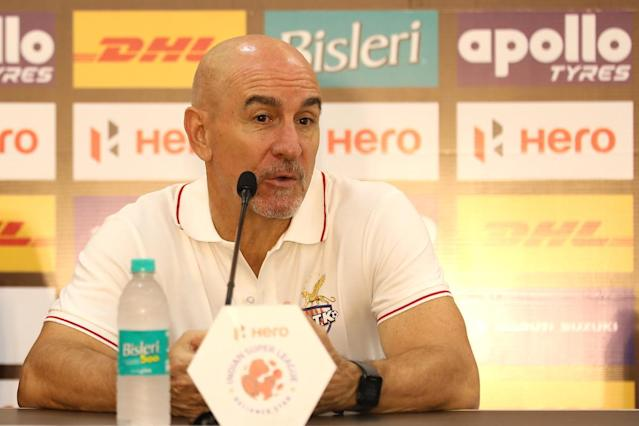 The former Granada coach admitted that his team didn't have a great game against Odisha FC…
