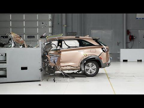 """<p>Hydrogen might be the most abundant element in the universe and what powers the the 161-hp electric motor in the <a href=""""https://www.caranddriver.com/hyundai/nexo"""" rel=""""nofollow noopener"""" target=""""_blank"""" data-ylk=""""slk:Hyundai Nexo"""" class=""""link rapid-noclick-resp"""">Hyundai Nexo</a>, but its not likely you've seen many of these fuel-cell vehicles at your local watering hole. It's only sold in California, but the base Nexo Blue has an estimated range of 380 miles. Hyundai will give three years or $13,000 worth of complimentary hydrogen fuel to anyone who buys or leases one. On top of that, the Nexo has a bunch of standard safety features. Adaptive cruise control, blind-spot monitoring, lane-keeping assist, rear cross-traffic alert, and forward collision avoidance with pedestrian detection are on every Nexo. NHTSA hasn't rated the Nexo yet, but the model received Good ratings for all six crash tests, and Superior and Advanced ratings for front crash prevention by IIHS.</p><p><a class=""""link rapid-noclick-resp"""" href=""""https://www.caranddriver.com/hyundai/nexo"""" rel=""""nofollow noopener"""" target=""""_blank"""" data-ylk=""""slk:MORE NEXO INFO"""">MORE NEXO INFO</a></p><p><a href=""""https://www.youtube.com/watch?v=s7XOUbRDjFA"""" rel=""""nofollow noopener"""" target=""""_blank"""" data-ylk=""""slk:See the original post on Youtube"""" class=""""link rapid-noclick-resp"""">See the original post on Youtube</a></p>"""