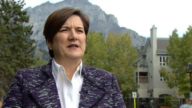 Karen Sorensen, who has served as mayor of Banff since 2010, has been appointed to represent Alberta in the Senate. (CBC - image credit)