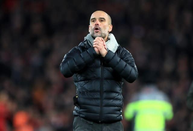 Manchester City manager Pep Guardiola implemented