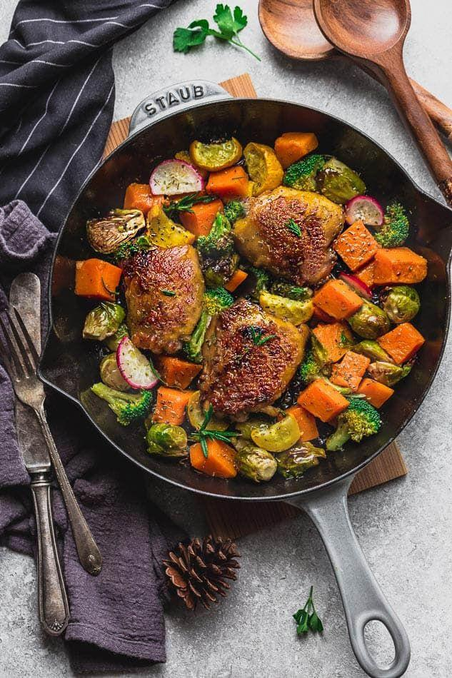"""<p>Why bother with the drive-through when you can serve your family fresh """"fast food"""" like this one-pot harvest chicken with a host of vegetables like Brussels sprouts, pumpkin, broccoli, and yellow zucchini?</p><p><strong>Get the recipe at <a href=""""https://lifemadesweeter.com/instant-pot-harvest-chicken/"""" target=""""_blank"""">Life Made Sweeter</a>. </strong><br></p><p><strong><a class=""""body-btn-link"""" href=""""https://go.redirectingat.com?id=74968X1596630&url=https%3A%2F%2Fwww.walmart.com%2Fbrowse%2Fhome%2Finstant-pot%2F4044_90548_90546_7523641&sref=http%3A%2F%2Fwww.countryliving.com%2Ffood-drinks%2Fg5066%2Finstant-pot-chicken-recipes%2F"""" target=""""_blank"""">shop instant pots</a><br></strong></p>"""