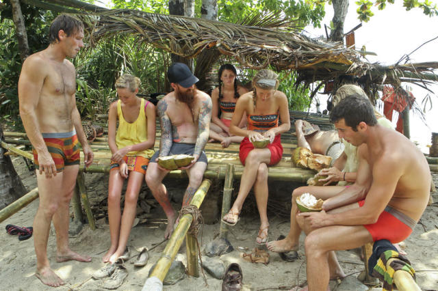 """Second Episode"" - The Gota Tribe relaxes during the second episode of ""Survivor: Caramoan - Fans vs. Favorites."""