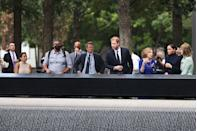 <p>Harry and Meghan visited the 9/11 Memorial Museum.</p>