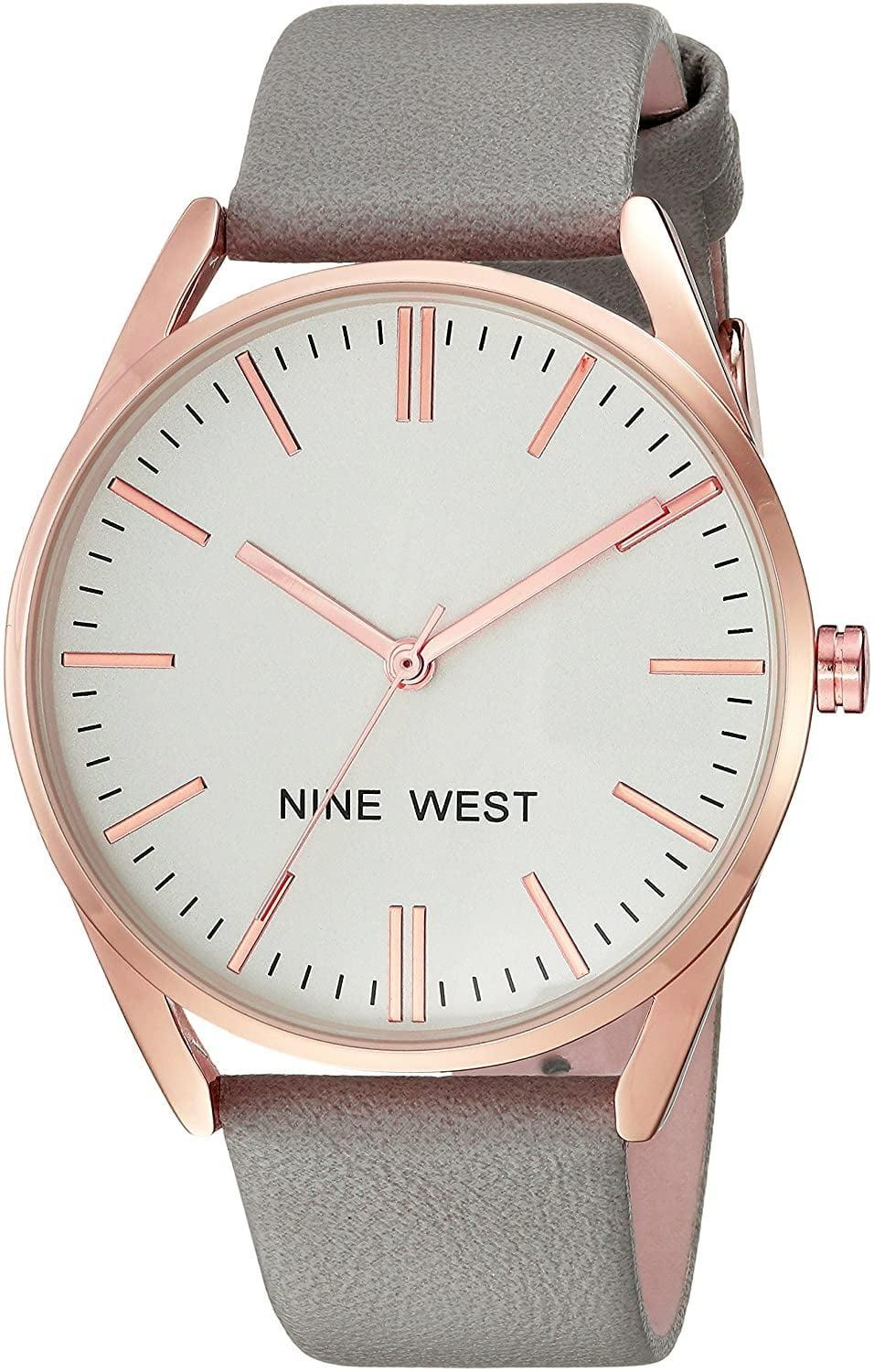 <p>This stylish <span>Nine West Strap Watch</span> ($28) is an incredibly good deal.</p>