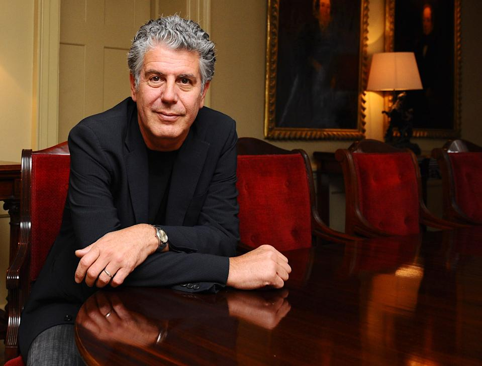 Anthony Bourdain is being remembered by family, friends and fans on what would have been his 61st birthday. (Photo: Ian West/PA Images via Getty Images)