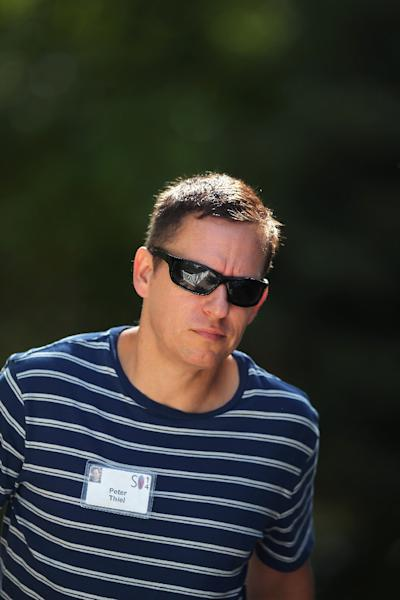 "Peter Thiel, pictured on July 10, 2014, said Gawker's reports had been ""very painful and paralyzing for people who were targeted"" (AFP Photo/Scott Olson)"