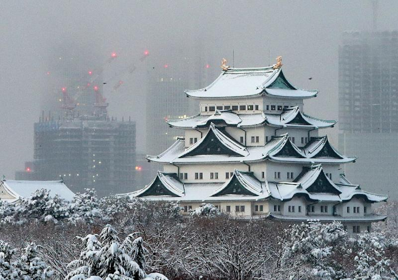 Historic Nagoya castle in Japan's Aichi prefecture