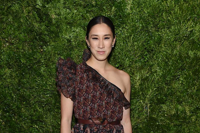 Eva Chen attends the CFDA / Vogue Fashion Fund 2019 Awards: Getty Images