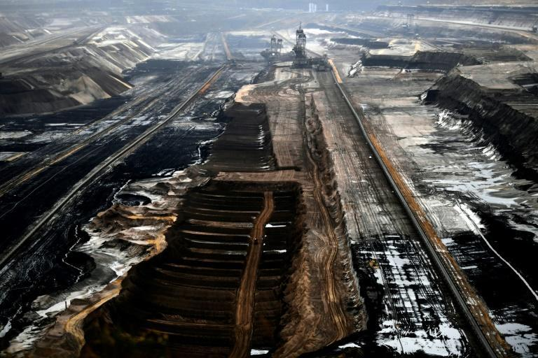 Despite Germany's phaseout of coal the huge open-cast Garzweiler coal mine will continue to expand to serve nearby power plants