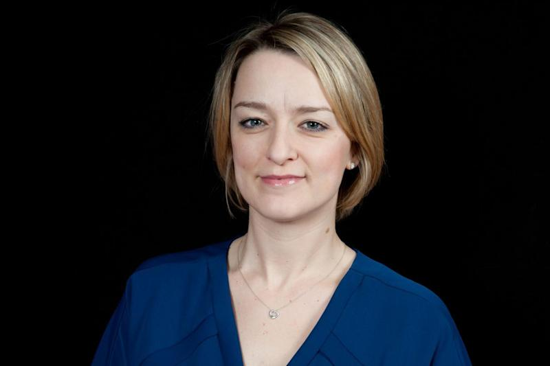 Laura Kuenssberg: The journalist has been subjected to a torrent of abuse (BBC)