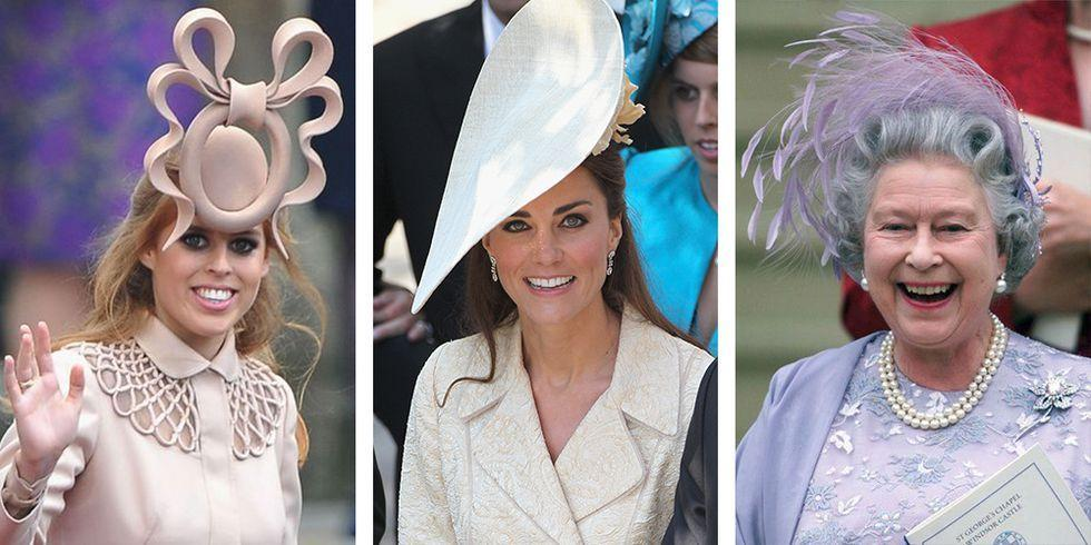 """<p>The most anticipated fashion moment at every wedding is the bride's dress. But at <a href=""""https://www.elledecor.com/life-culture/g24274167/british-royal-family-at-home/"""" target=""""_blank"""">royal affairs</a>, the hats and fascinators guests wear can sometimes draw just as much attention. These are some of the most over-the-top designs ever worn to a royal wedding.</p>"""