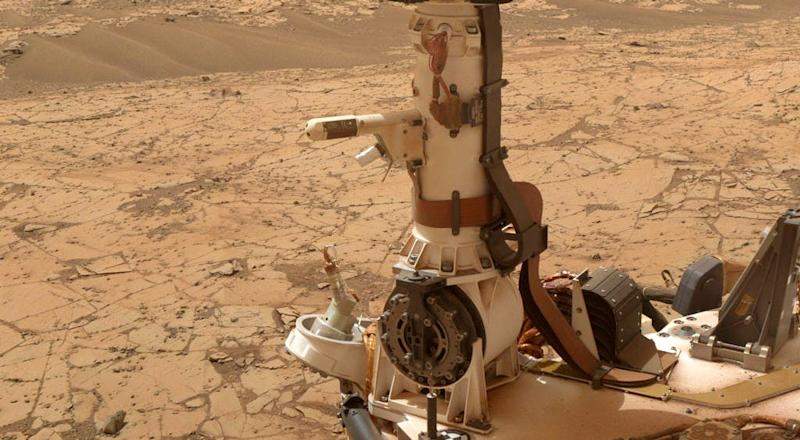 NASA`S Curiosity Rover Detected The Largest Amount Of Methane On Mars
