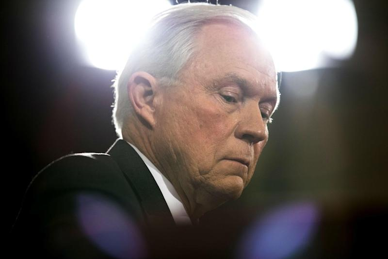 Jeff Sessions has maintained that he has done nothing wrong: AP