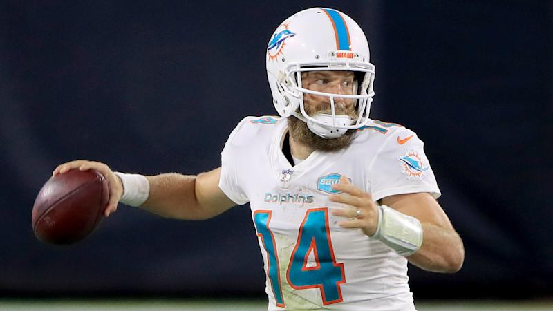 Fitzpatrick makes NFL history as Dolphins ease past Jaguars for first win