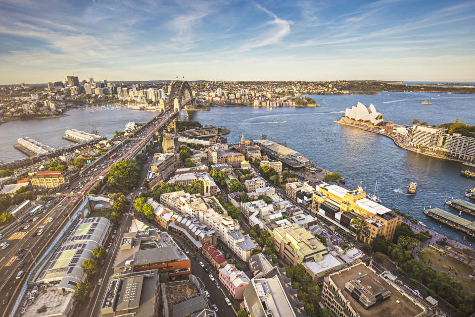 Sydney recorded the highest property price growth over 2019. (Source: Getty)