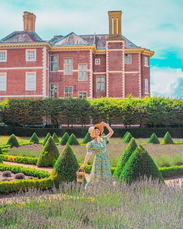 """<p>Loved Bridgerton? Well prepare to relive its romance with a visit to the magnificent 17th-century Ham House, right on the banks of the River Thames. It's now owned by the National Trust, and is Europe's best remaining example of the era's fashion and extravagance.</p><p>As well as the atmospheric interiors and gorgeous period furniture inside, the formal gardens are an amazing example of the English Landscape movement. It's full of fascinating corners to explore, colourful flowers and perfectly pruned topiary – the ideal place to relax and reflect.</p><p><a href=""""https://www.instagram.com/p/CFFc6oUB7j9/"""" rel=""""nofollow noopener"""" target=""""_blank"""" data-ylk=""""slk:See the original post on Instagram"""" class=""""link rapid-noclick-resp"""">See the original post on Instagram</a></p>"""