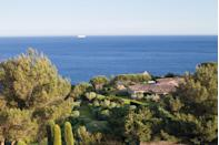 """<p>Seated in between Marseille and Monaco, <a href=""""https://www.lareserve-ramatuelle.com/en/luxury-villa-rentals-saint-tropez/"""" rel=""""nofollow noopener"""" target=""""_blank"""" data-ylk=""""slk:La Réserve Ramatuelle"""" class=""""link rapid-noclick-resp"""">La Réserve Ramatuelle</a> offers sweeping cliffside views of the Mediterranean. This beautiful resort town is a well-kept secret from the busy vacationers in nearby St. Tropez, and each of the 14 villas on the property boasts its own private garden and pool.</p><p>These large, fragrant gardens are the perfect place to enjoy a novel, picnic on local provisions, and sip a French wine at golden hour amid the swaying olive trees. Now, that's our kind of vacation.<br></p>"""
