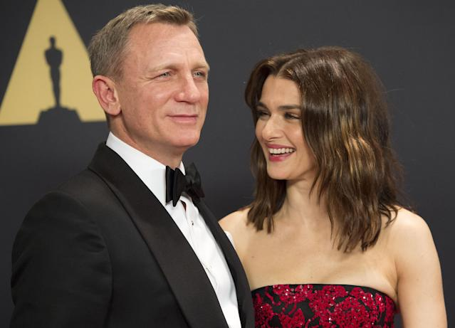 Daniel Craig, who welcomed a daughter with wife Rachel Weisz in 2018, has dismissed the idea of bequeathing a large fortune. (Photo: VALERIE MACON/AFP via Getty Images)