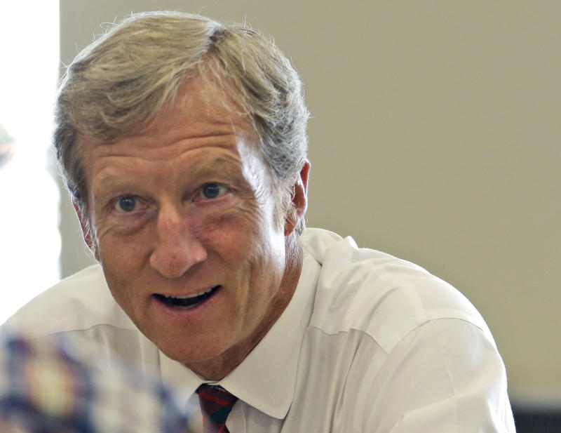 Climate group to sink $100M in 7 races in 2014