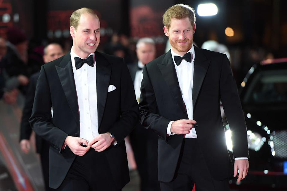 Prince Harry did address rumours of a rift with his brother in a documentary last year [Photo: Getty]