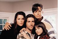 """<p>Everyone knows this show made household names out of Scott Wolf, Matthew Fox, Neve Campbell, <a href=""""https://www.redbookmag.com/life/mom-kids/a45888/lacey-chabert-first-baby-julia-mimi-bella-mean-girls-gretchen-wieners/"""" rel=""""nofollow noopener"""" target=""""_blank"""" data-ylk=""""slk:Lacey Chabert"""" class=""""link rapid-noclick-resp"""">Lacey Chabert</a>, and Jennifer Love Hewitt. It was also the launching pad for a then-unknown <a href=""""https://www.imdb.com/name/nm0005028/"""" rel=""""nofollow noopener"""" target=""""_blank"""" data-ylk=""""slk:actress named Kate Hudson"""" class=""""link rapid-noclick-resp"""">actress named Kate Hudson</a>. The <em>Almost Famous </em>star got her first acting gig in 1996 playing a character named Cory in a season two episode.</p>"""