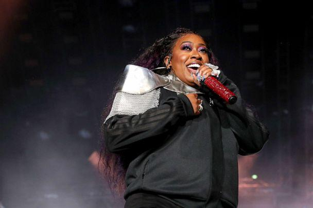 PHOTO: Missy Elliott performs onstage during the 2019 ESSENCE Festival Presented By Coca-Cola performs onstage during the at Louisiana Superdome on July 05, 2019, in New Orleans, Louisiana. (Bennett Raglin/Getty Images for ESSENCE, FILE)