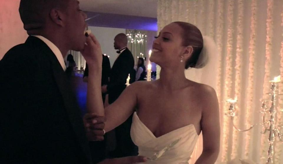 """<p>One of the last shots in """"Lemonade"""" was an image of Jay and Bey's wedding we hadn't seen before.<br></p>"""