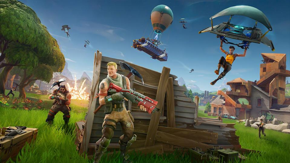 Games like 'Fortnite' are seeing spikes in users, as governments around the world lock down their cities and countries. (Image: Epic Games)