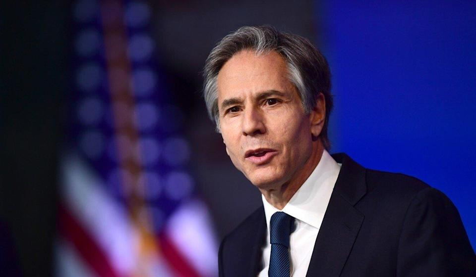 US Secretary of State Antony Blinken is in Europe after a bruising encounter with Beijing's top diplomat Yang Jiechi and Foreign Minister Wang Yi in Alaska last week. Photo: Getty Images